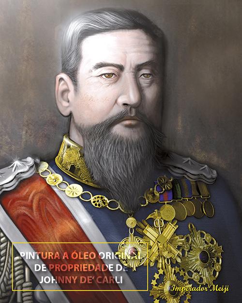 Imperador Meiji – marca d'agua